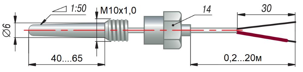 дТП204 - преобразователь термоэлектрический