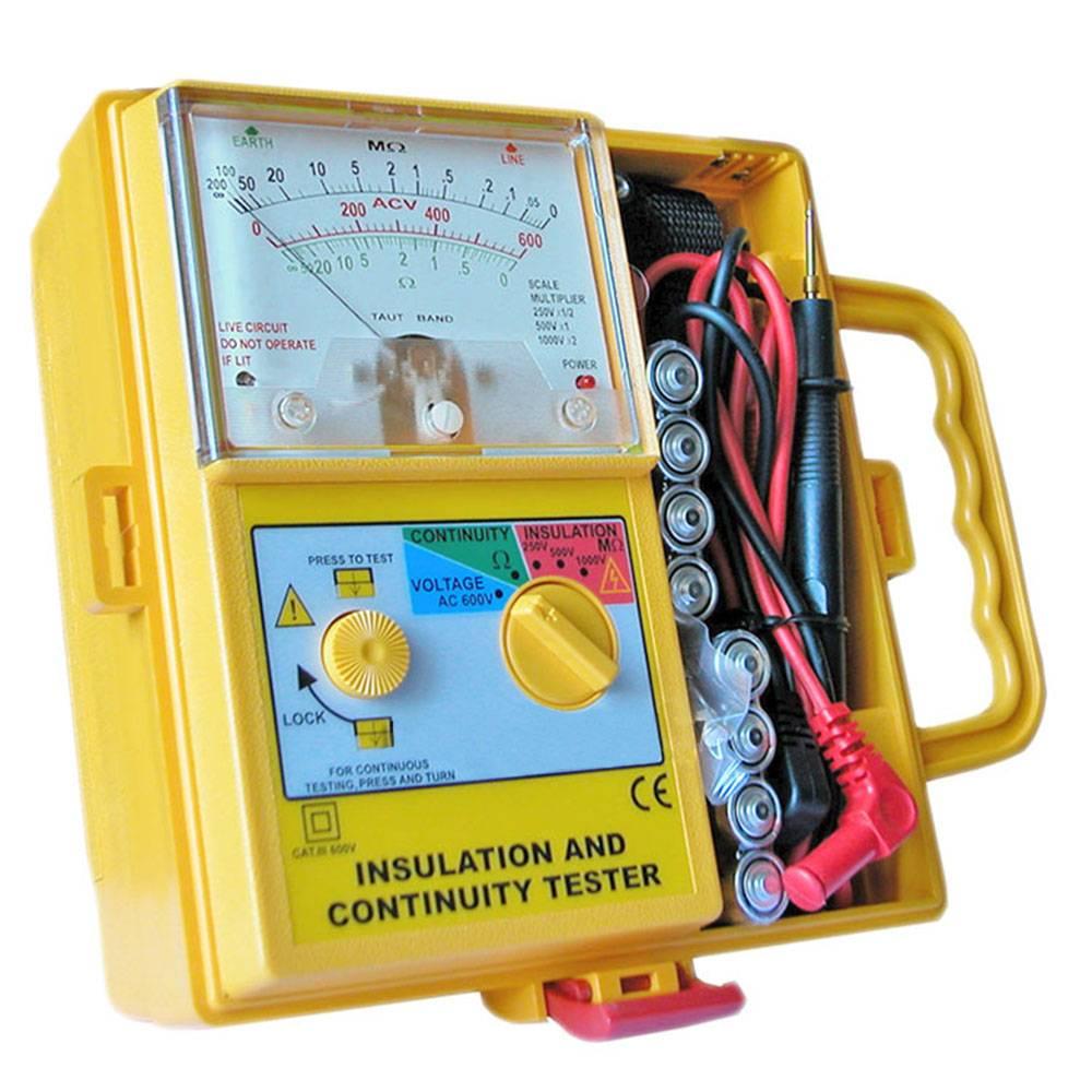 1800 IN - аналоговый измеритель сопротивления изоляции