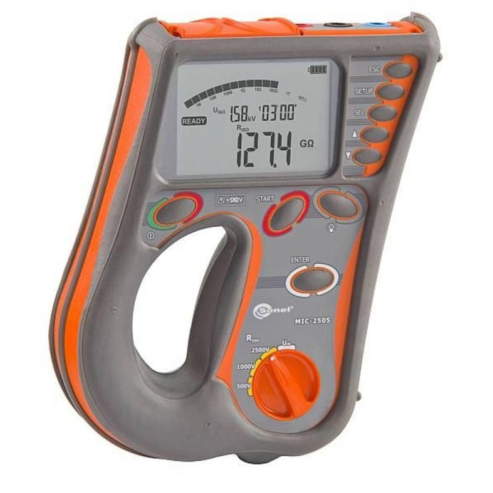 MIC-2505 - измеритель параметров электроизоляции, мегаомметр