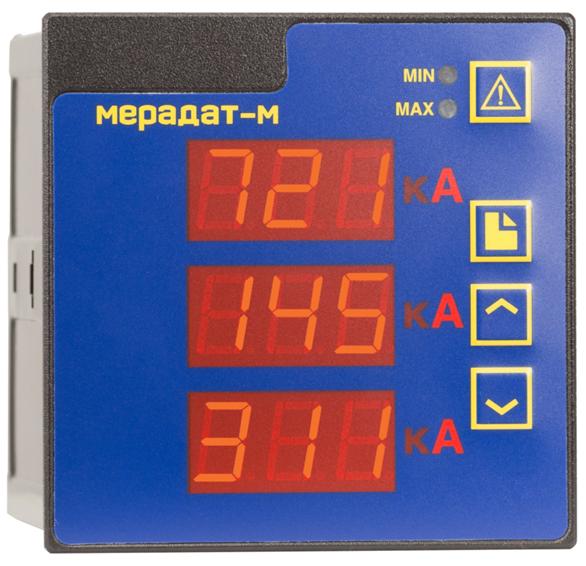 Мерадат-M3A1 - регистратор напряжения и силы тока в цепи
