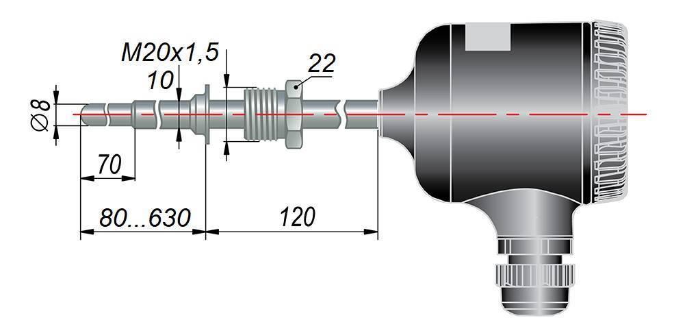 ДТС055М - термопреобразователь сопротивления
