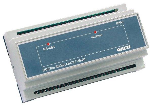 МВА8 - модуль ввода аналоговый