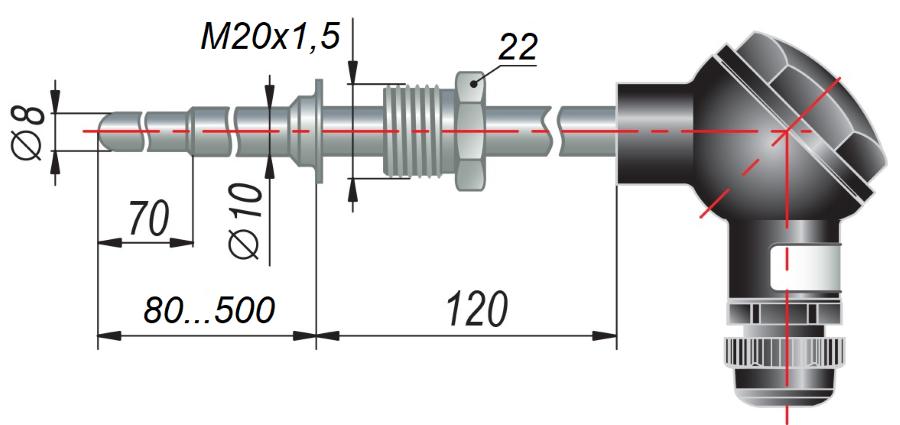 ДТС055 - термопреобразователь сопротивления
