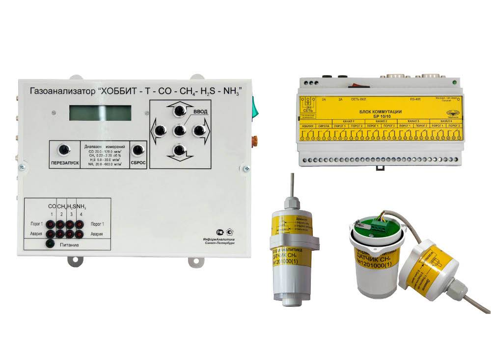 Хоббит-Т-NH3 - газоанализатор аммиака с цифровой индикацией