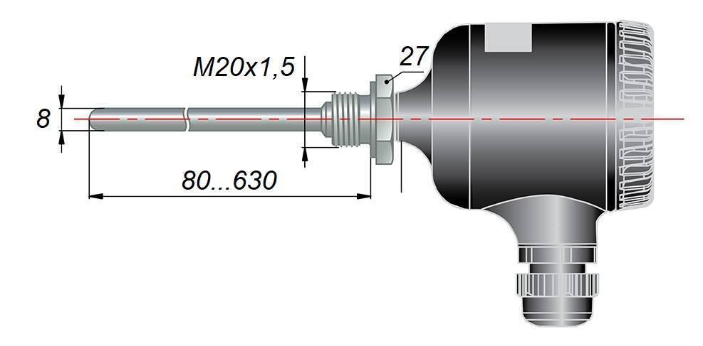 ДТС105М - термопреобразователь сопротивления