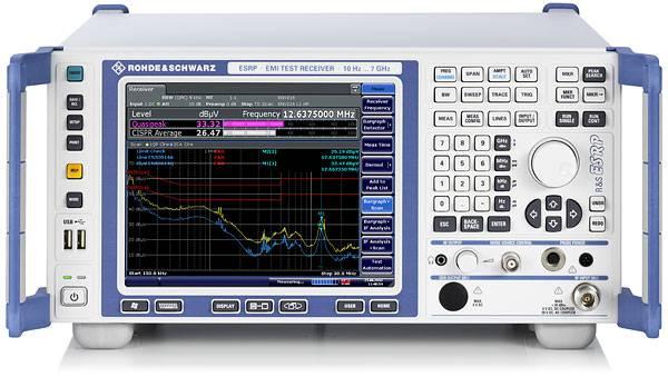 ESRP серия - измерительные приемники электромагнитных помех