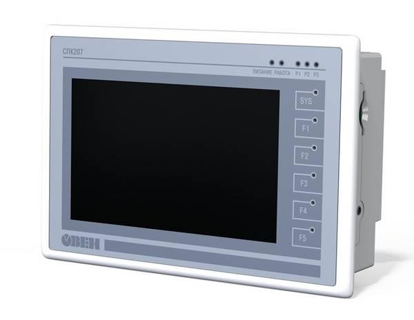 СПК207 - панельный программируемый логический контроллер