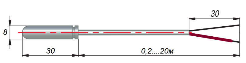 дТП024 - преобразователь термоэлектрический