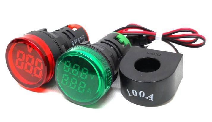 MT22 - цифровой индикатор напряжения и тока