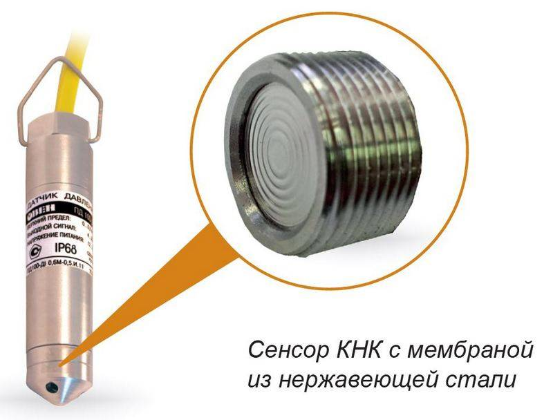 ПД100-ДГ-137 - погружной преобразователь гидростатического давления столба жидкости (уровня)