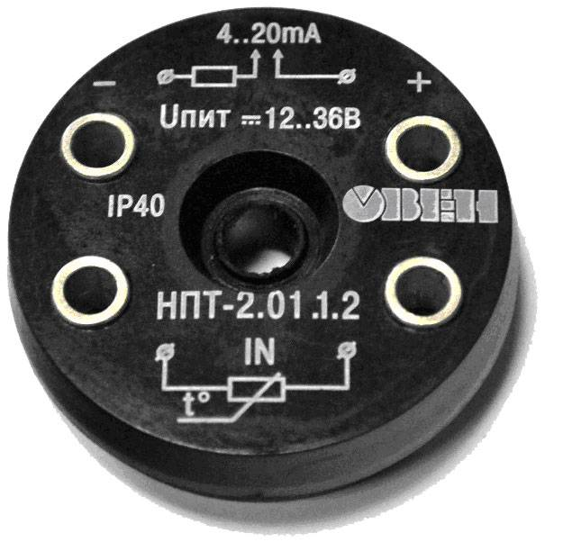 НПТ-2 - температурный нормирующий преобразователь с выходом 4…20 мА