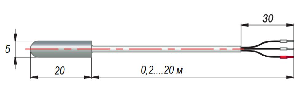 дТП014 - преобразователь термоэлектрический