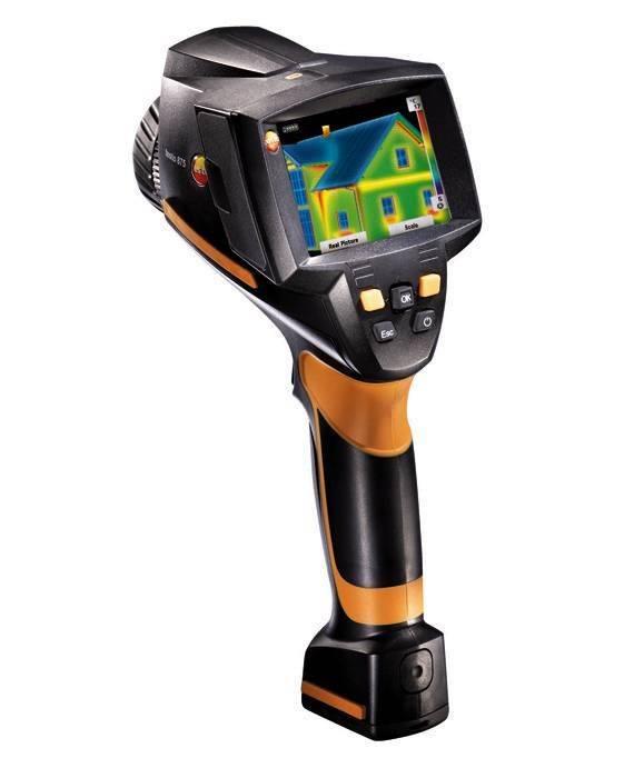 testo 875-2i - тепловизор со встроенной цифровой камерой