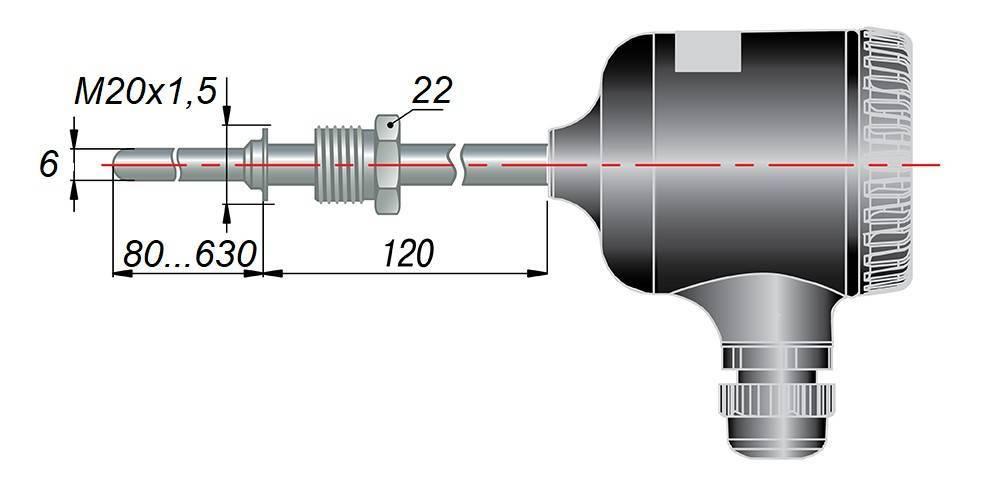 ДТС145М - термопреобразователь сопротивления