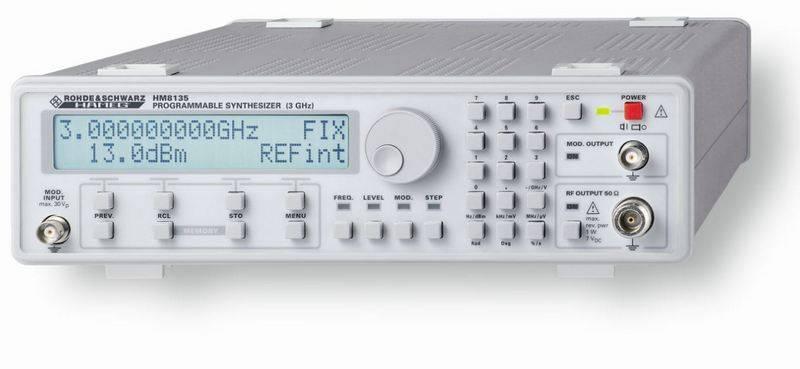 HM8135-X - генератор высоких частот (3 ГГц) с термостатированным кварцевым генератором (ОCXO)