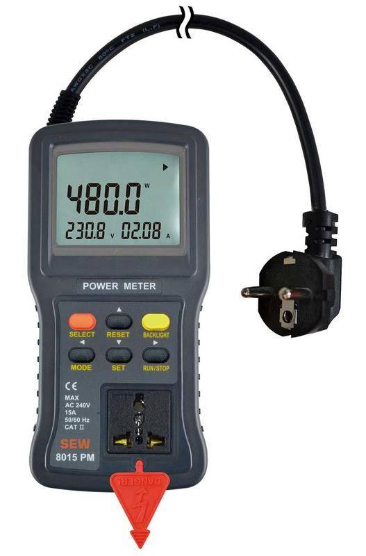 8015 PM - измеритель электрической мощности