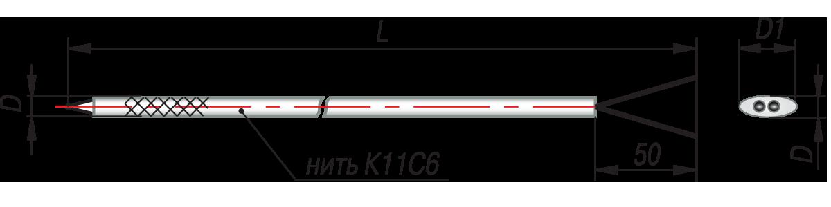 дТП011 - преобразователь термоэлектрический
