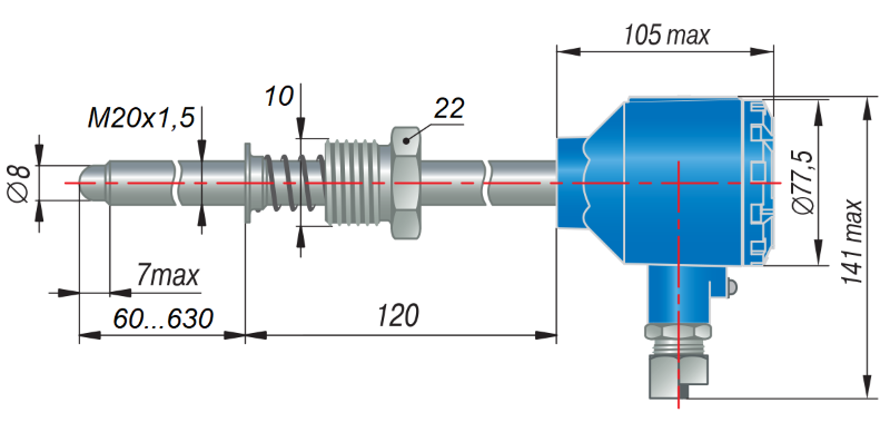 ДТС095Д-EXD - термопреобразователь сопротивления