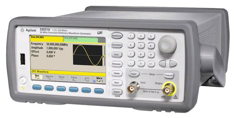 33521A - генератор сигналов произвольной формы