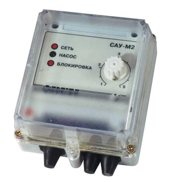 САУ-М2 - прибор для управления электроприводом погружного насоса