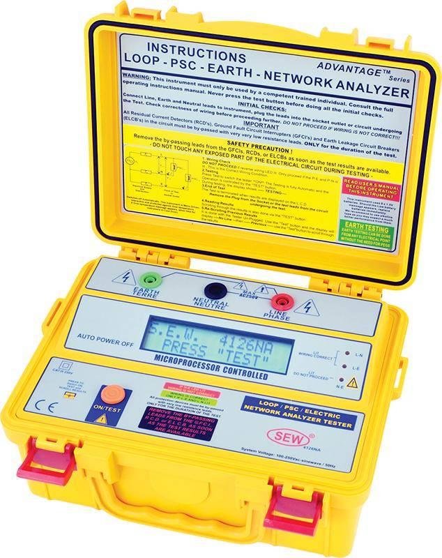 4126 NA - многофункциональный анализатор электрических цепей