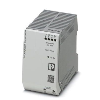 UNO-PS/2AC/24DC/90W/C2LPS - источник питания с регулированием в первичной цепи