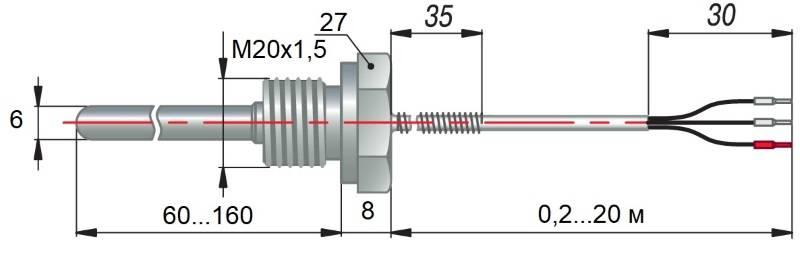 дТС194 - термопреобразователь сопротивления