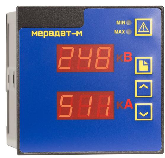 Мерадат-M1BA - измеритель параметров электрической сети