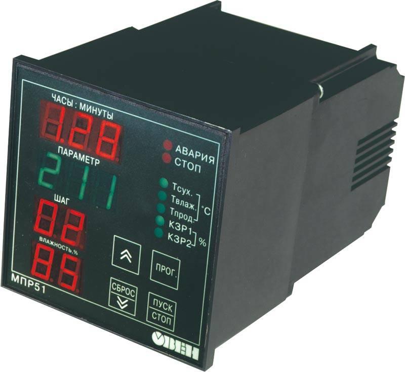 МПР51-Щ4 - регулятор температуры и влажности, программируемый по времени