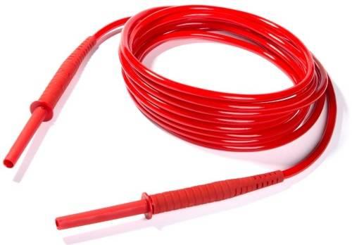 Провод измерительный с разъемами «банан» 10 кВ красный 10 м - для MIC-50XX, MIC-10k1