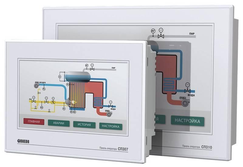 СП310 - сенсорная панель оператора