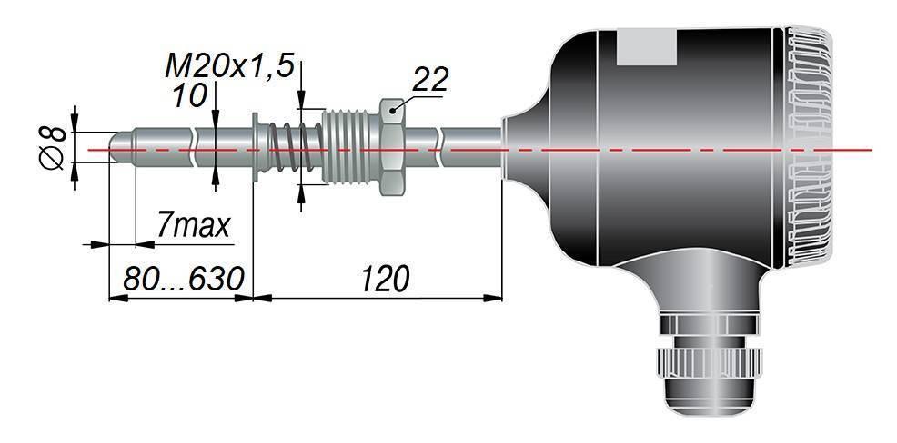 ДТС095М - термопреобразователь сопротивления