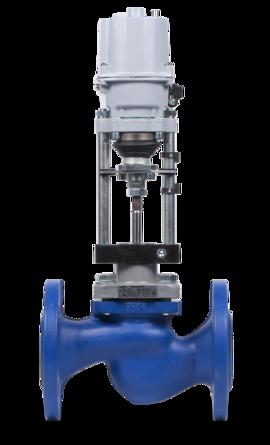 КПСР серии 100 - клапан запорно-регулирующий