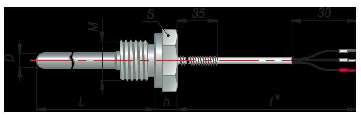 дТС074 - термопреобразователь сопротивления