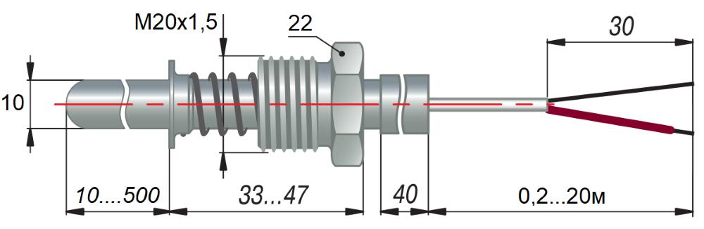 дТП144 - преобразователь термоэлектрический