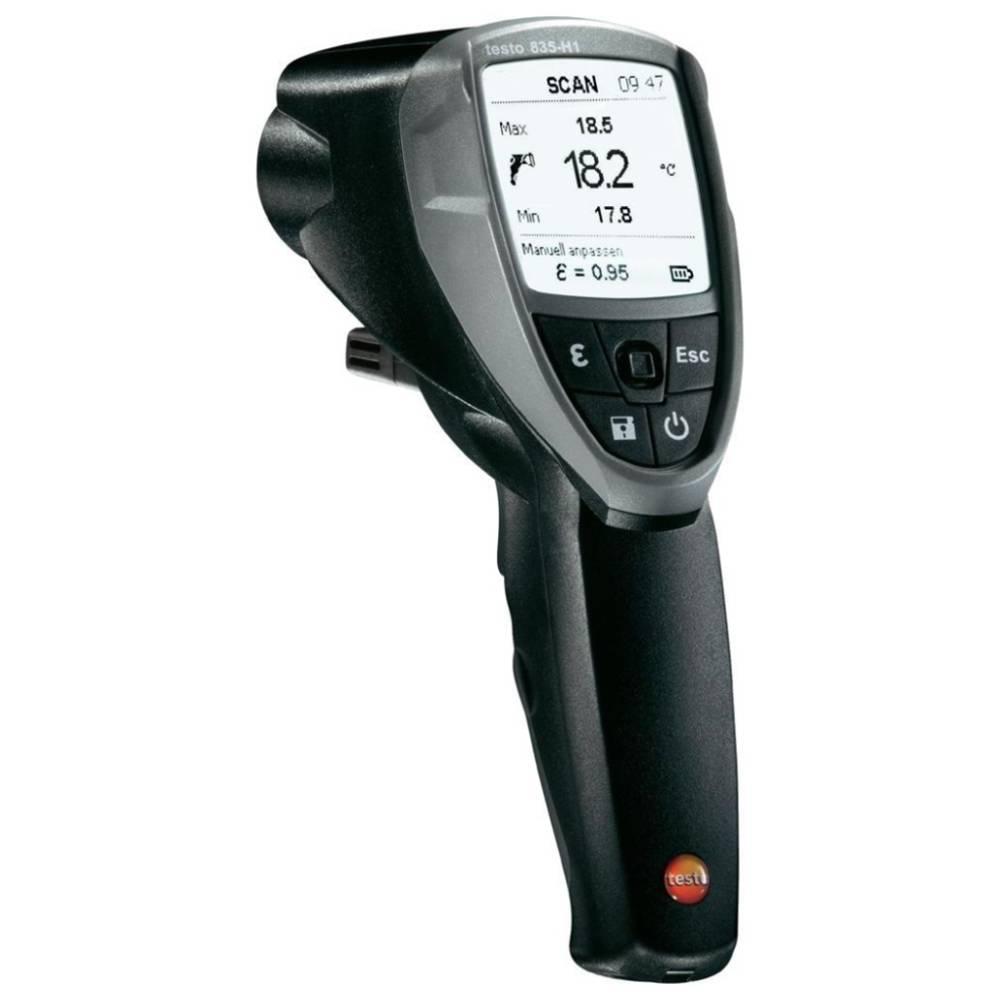 testo 835-H1 - пирометр, инфракрасный термометр с 4-х точечным лазерным целеуказателем