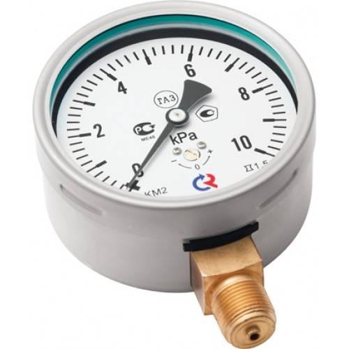 КМ-22 - манометр для измерения низких давлений газов