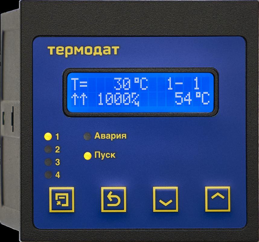 Термодат-14Е5 - одноканальный программный ПИД-регулятор температуры