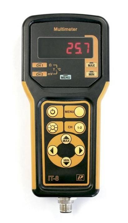 IT-8-RUT - мультиметр (милливольтметр) цифровой прецизионный