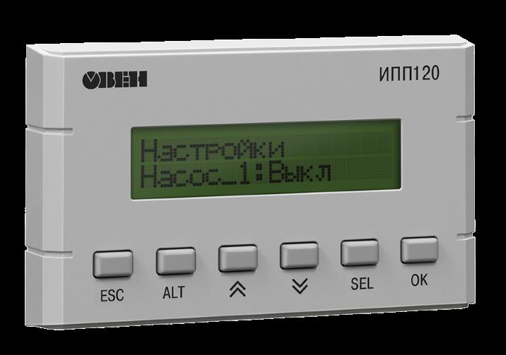 ИПП120 - информационная программируемая панель оператора