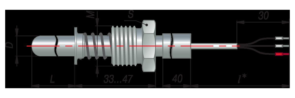 дТС144 - термопреобразователь сопротивления