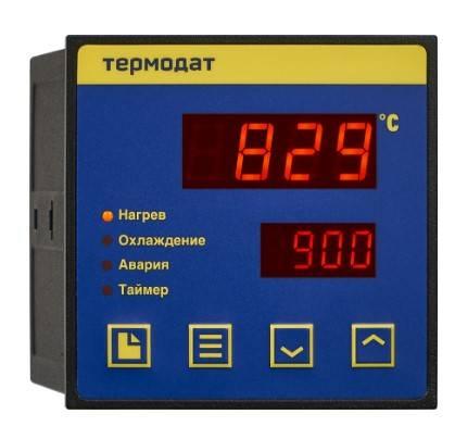Термодат-10К6 - одноканальный ПИД-регулятор температуры