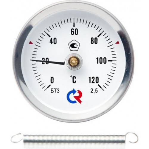 БТ-30.010 - термометр биметаллический с пружиной