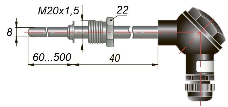 дТС335 - термопреобразователь сопротивления