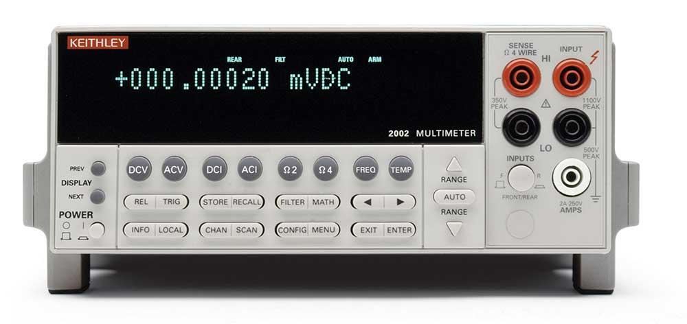 2002 - вольтметр прецизионный