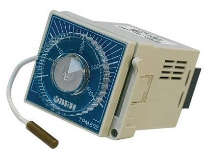 ТРМ502 - реле-регулятор температуры с термопарой ТХК