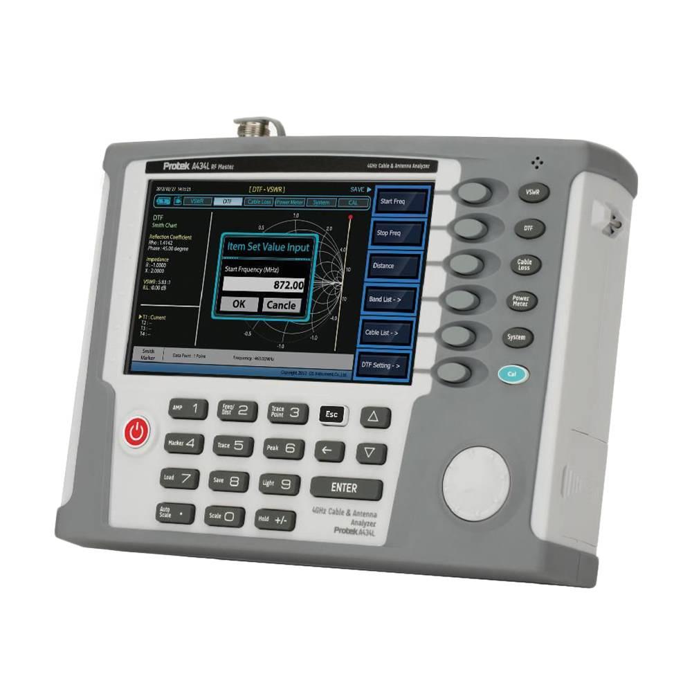 A434L - портативный ВЧ векторный анализатор цепей