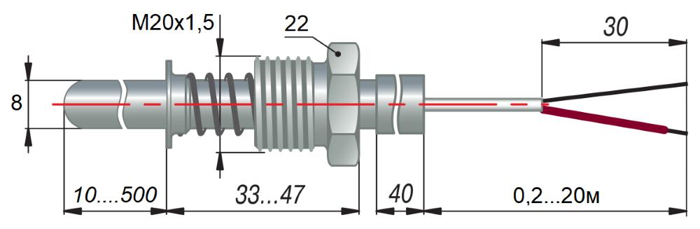 дТП134 - преобразователь термоэлектрический