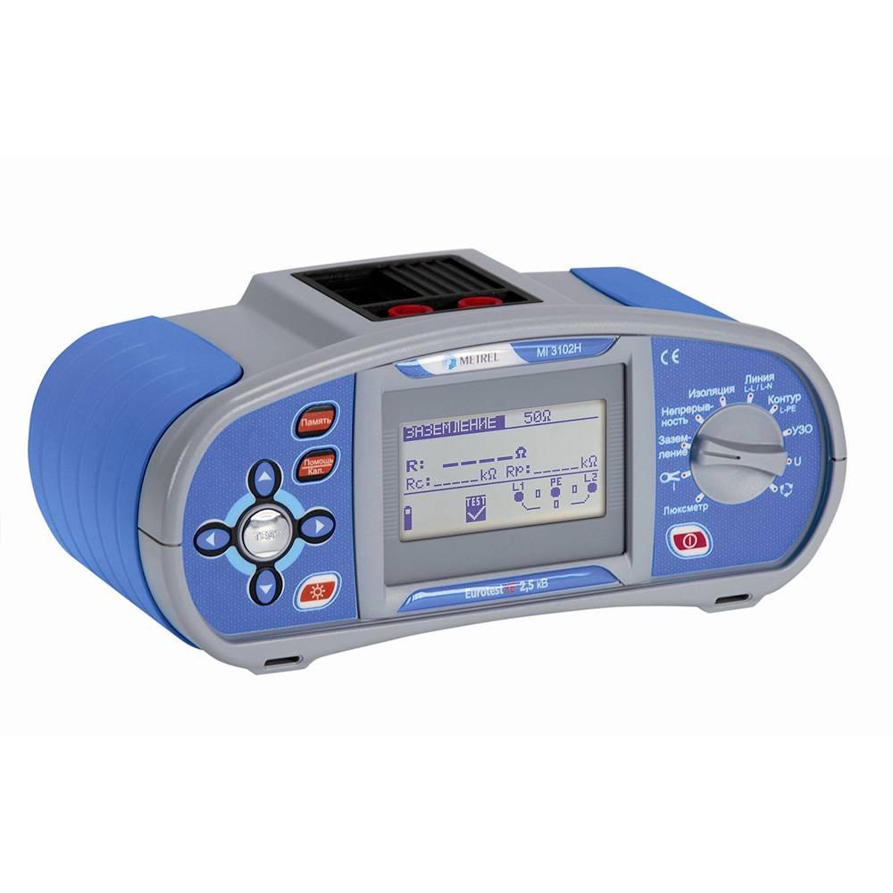 MI 3102H EurotestXE 2,5 кВ - многофункциональный измеритель параметров электроустановок