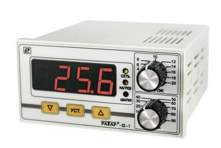 Ратар-02-1 - терморегулятор с аварийным реле для отопительных котлов